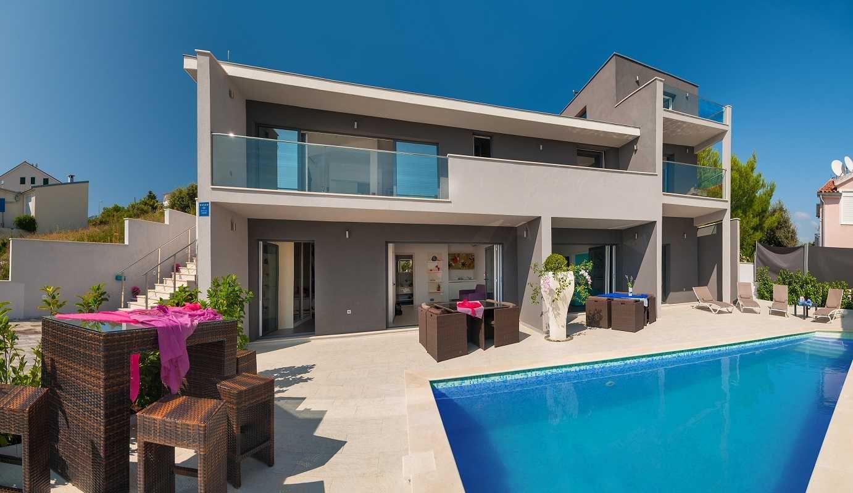 Luxury Villas Croatia Luxury Villa With Pool And Sea View Near Beach Boat Mooring Croatia Luxury Villas Wi Luxury Villa Pool Houses Villa With Private Pool