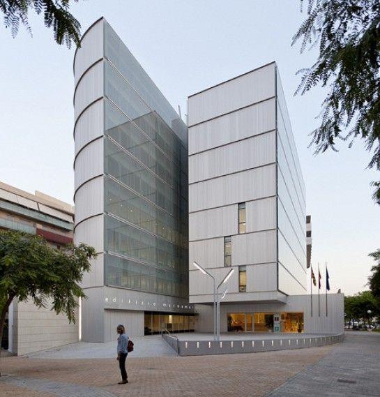 Javier garc a solera vera edificio de oficinas marsamar for Oficinas seur alicante