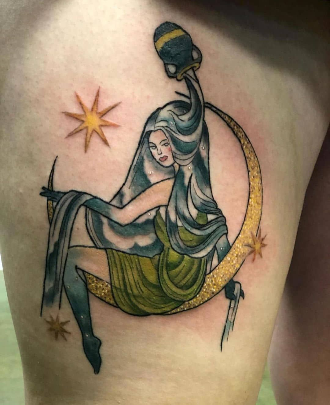 101 Amazing Aquarius Tattoo Designs You Need To See In 2020