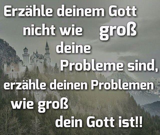 Oft scheint es so als wären wir den Problemen nicht ...