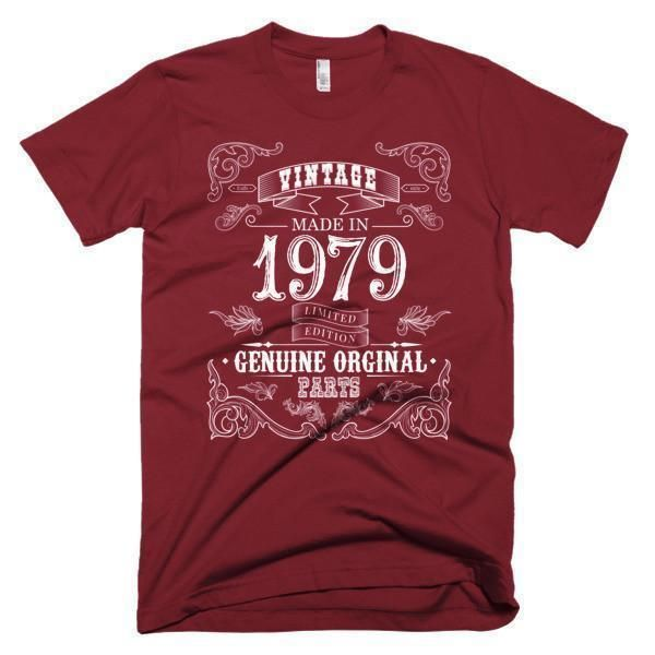 Men's Born in 1979 Aged to perfection Vintage 38 yrs years old T-Shirt