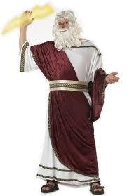 Zeus Costume | Halloween | Zeus costume,