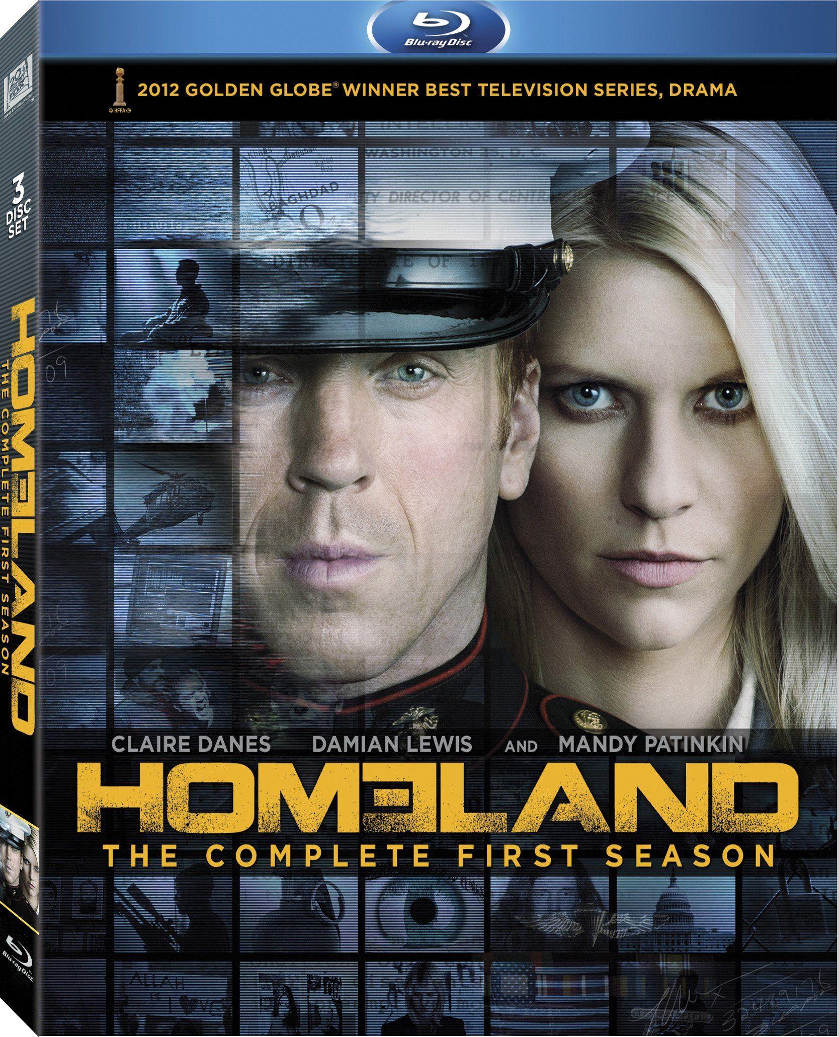 Homeland Season 1 [Bluray] Homeland season, Homeland