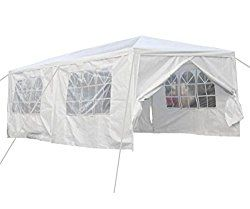 Qisan Canopy Tent Carport 10 X 20 Feet Carport With Sidewalls White Calm Environment Only With Images Canopy Tent Party Tent Camping Canopy