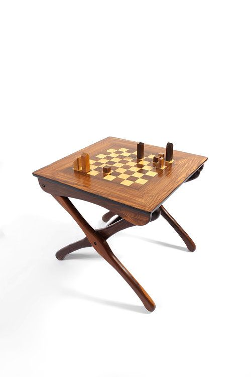 Don S. Shoemaker   Chess Table