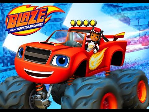 Blaze and the monster machines dome car game gameplay for Blaze cartoni
