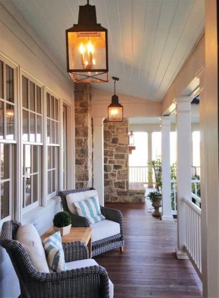 38 Ideas Farmhouse Porch Ideas Decor Southern Living For 2019 #sideporch