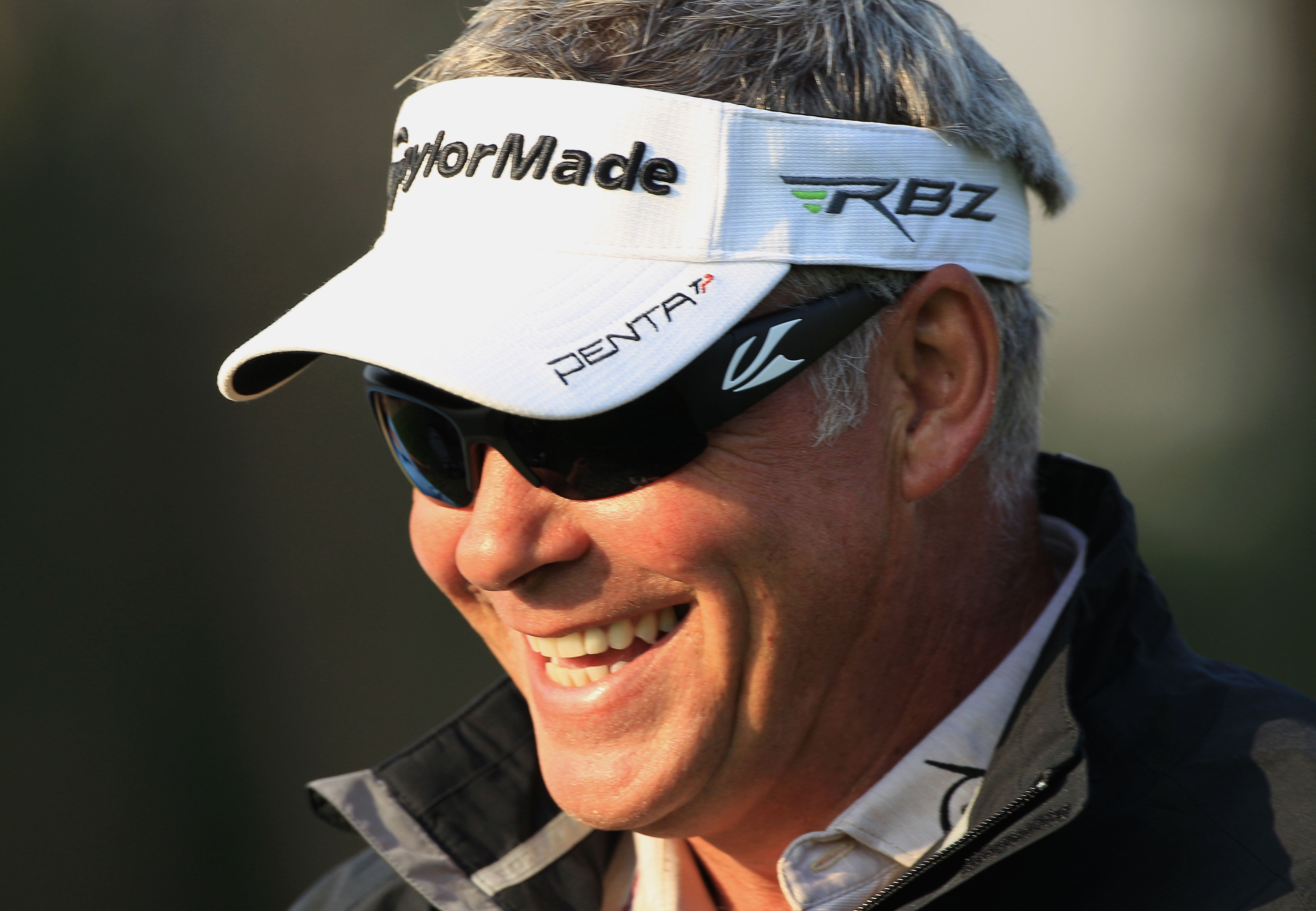 Kaenon mens sunglasses - Darren Clarke Wears Kaenon Hard Kore Sunglasses While Playing Golf On The Pga Tour