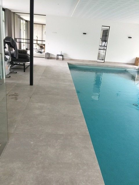 Zwembad tegels carriere du kronos gent 60x120 cm bij het for Zwembad tegels