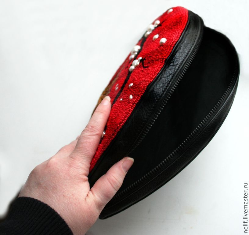 Вышивка бисером веер