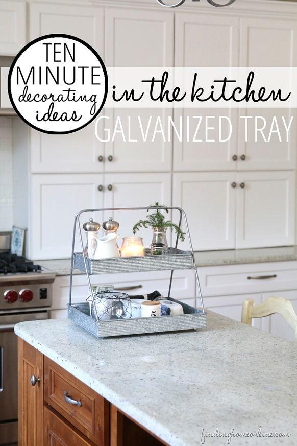 10 Minute Decorating Ideas – In the Kitchen | Cocinas, Decoración y ...