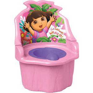 Dora the Explorer - 3-in-1 Potty Training Seat, Pink