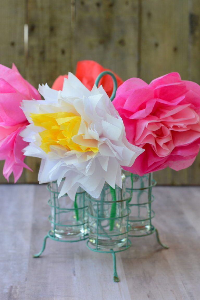 Tissue Paper Flowers For Mothers Day Tissue Paper Tissue Paper