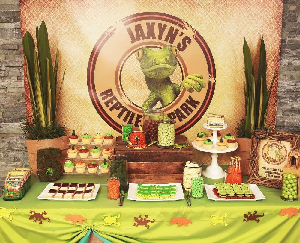 Jaxyn's 5th Birthday Party Reptile