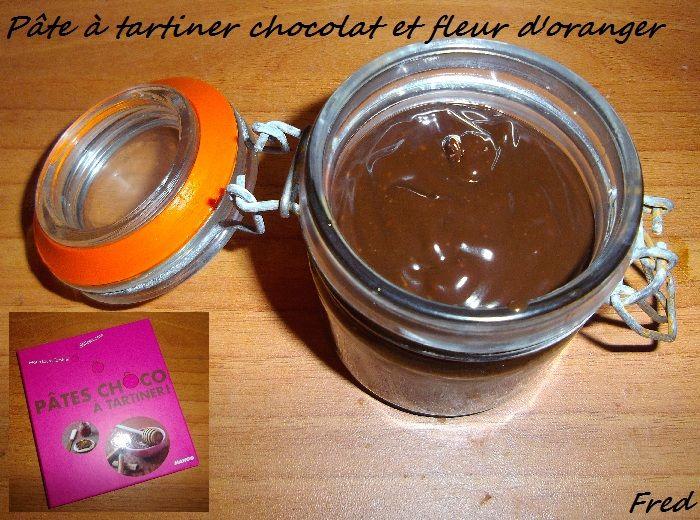 p 226 te 224 tartiner chocolat et fleur d oranger la cuisine des mamans p 226 te 224 tartiner