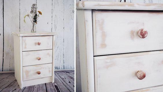 shabby chic vintage m bel selber machen anleitung schritt f r schritt m bel bearbeiten. Black Bedroom Furniture Sets. Home Design Ideas