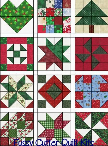 Christmas Scrappy Calico Holiday Fabrics Easy Patchwork Pre-Cut ... : quilts n calicoes - Adamdwight.com