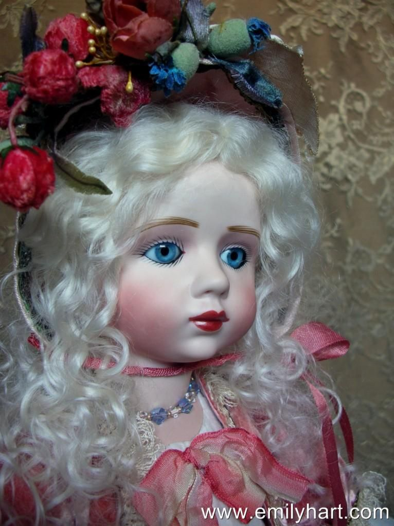 My favourite A. Marque with turquoise blue/hazel eyes and platinum wig.