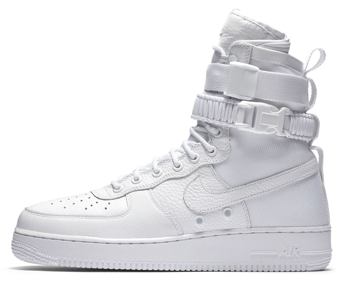 brand new ecbcd c3bb8 Nike AF Air Force 1 High White Release Date Profile 903270-100