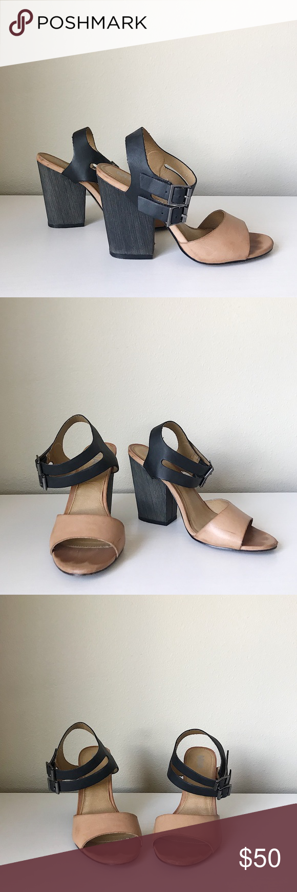 126ac4f7a2ec Spotted while shopping on Poshmark  MIA strappy block heel sandals!   poshmark  fashion  shopping  style  Mia  Shoes