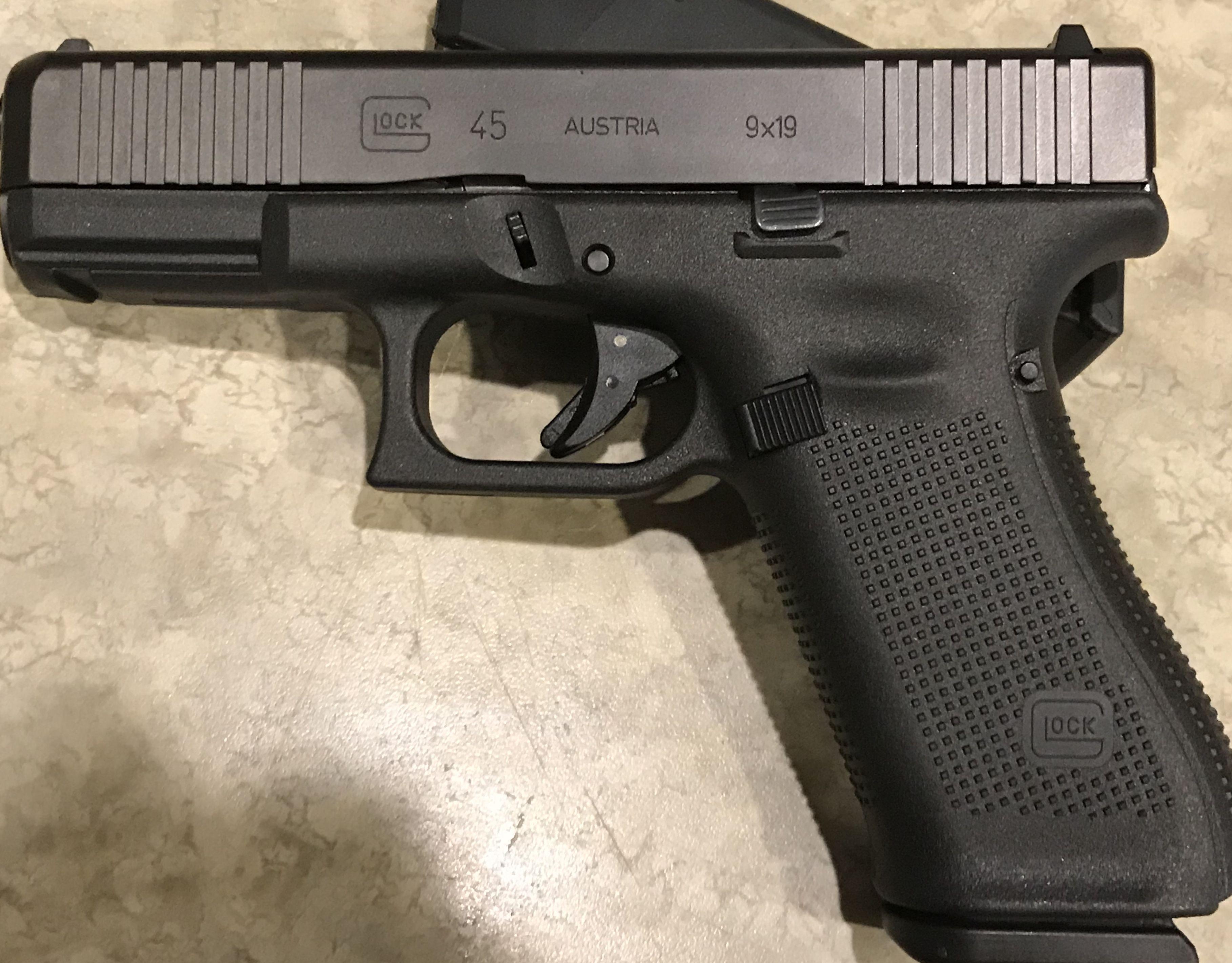 Glock 45, Gen 5 9x19mm | Glocks | Guns, ammo, Hand guns, Guns