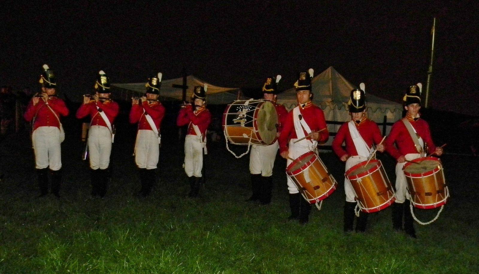 War Of Musicians At Night