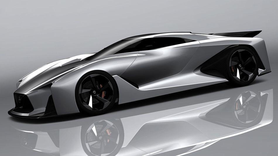 Nissan Concept 2020 Vision Gran Turismo The Real Driving Simulator Futuristic Cars Concept Cars Concept Car Design