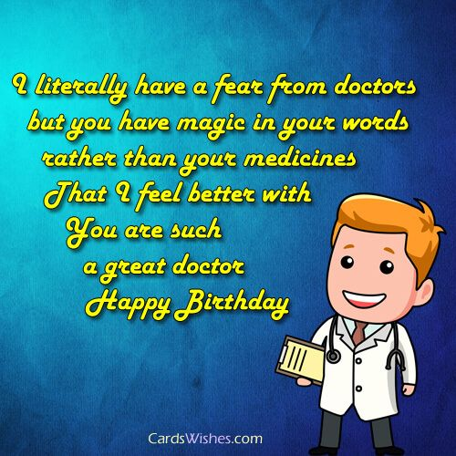 Birthday Wishes For Doctor With Images Birthday Wishes For