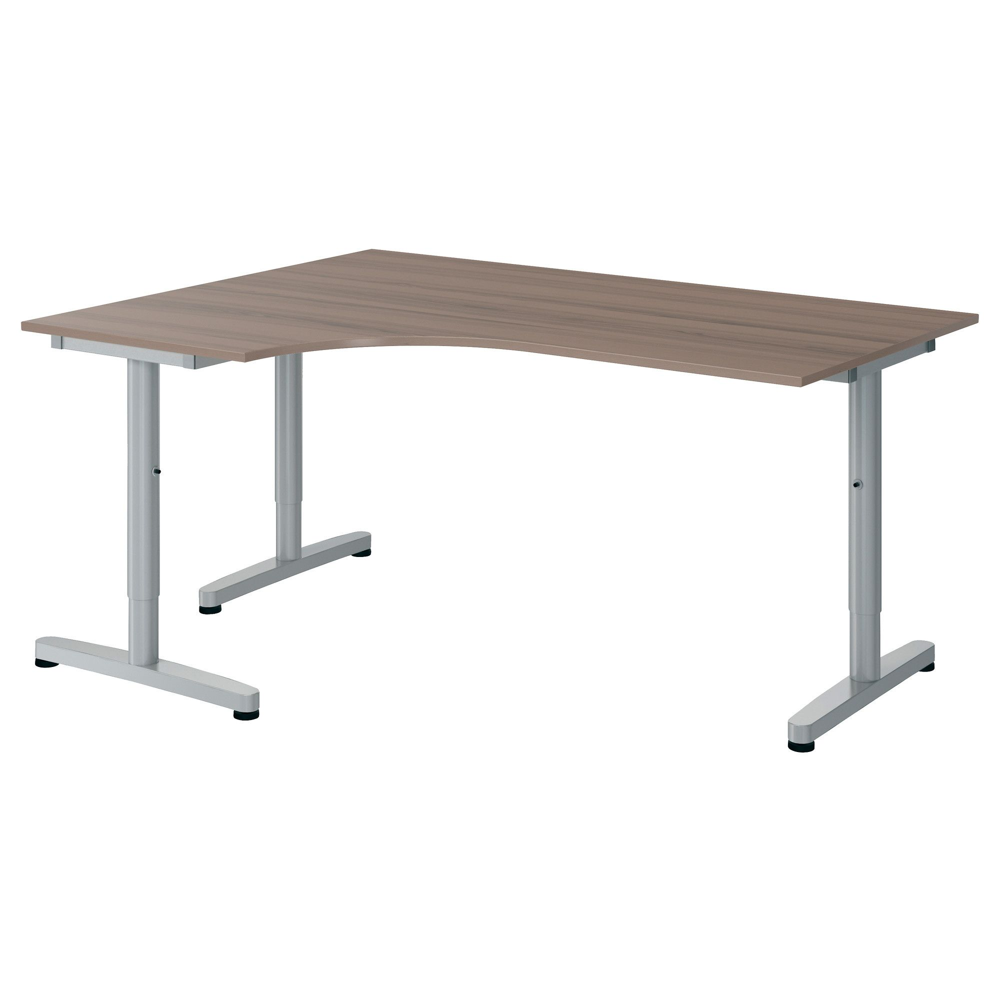 GALANT Corner Desk Left   Gray, T Leg   IKEA Nice Ideas