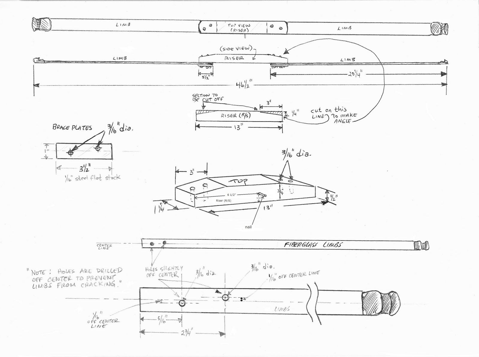 Homemade Bow Diagram Schematic Wiring Diagram