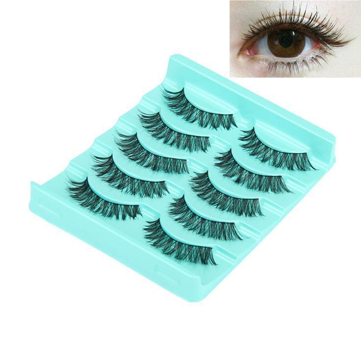 84ab5cd6e2c 1.0AUD - Big Sale! 5 Pair/Lot Crisscross False Eyelashes Lashes Voluminous  Hot Eye Lashes #ebay #Fashion