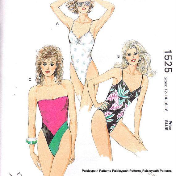 Kwik Sew 1525 | Swimsuit patterns I like | Pinterest