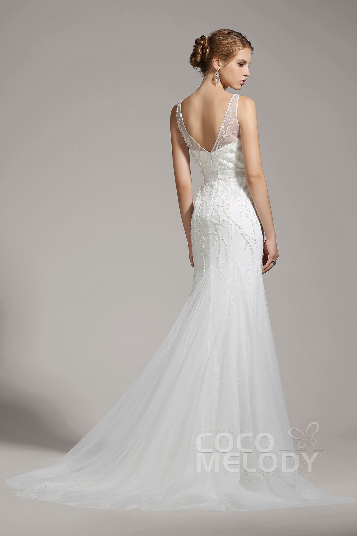 b5e815a521b Ivory Column Wedding Gown – Fashion dresses