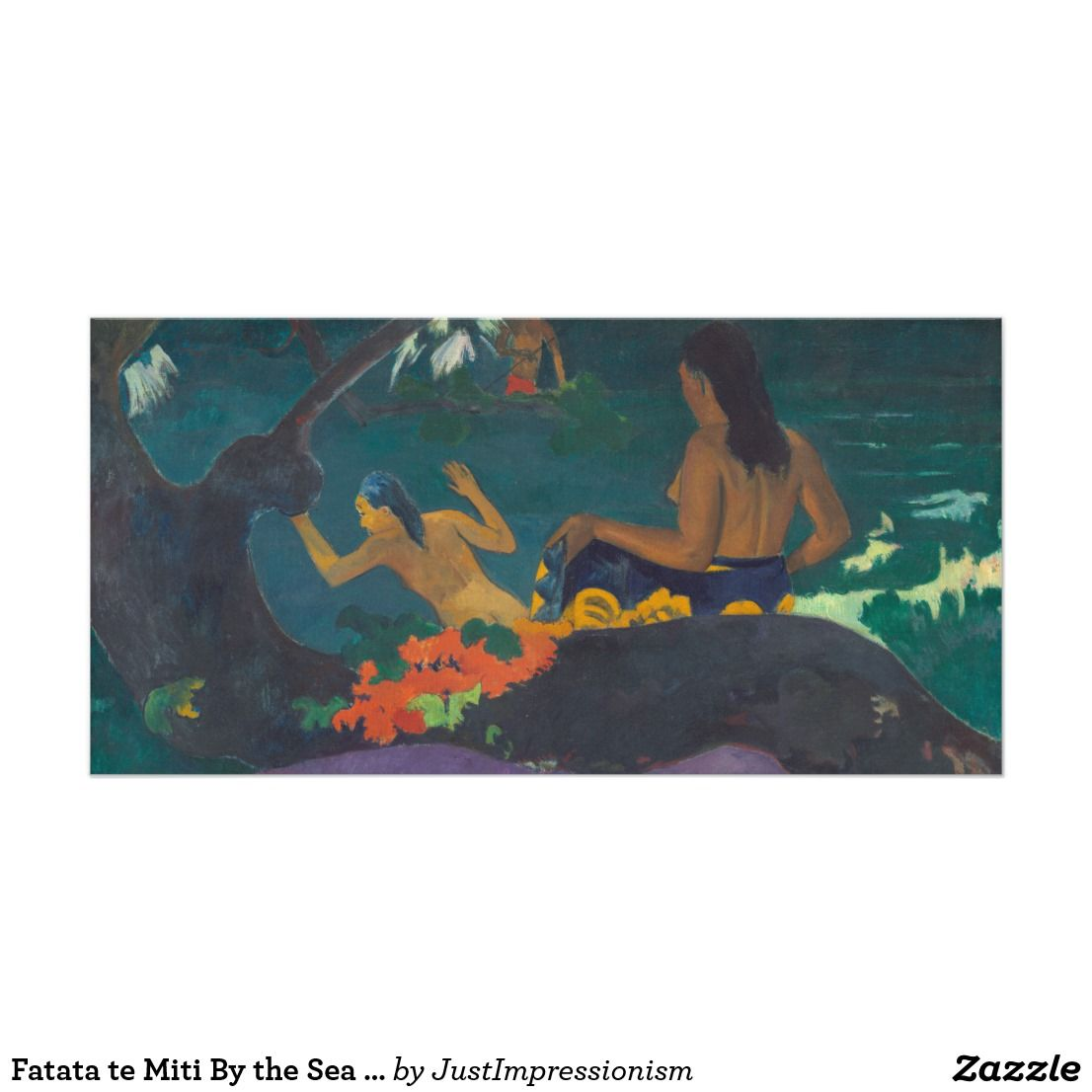 Te Vaa (The Cano), 1896 Giclee Print by Paul Gauguin   Art.com