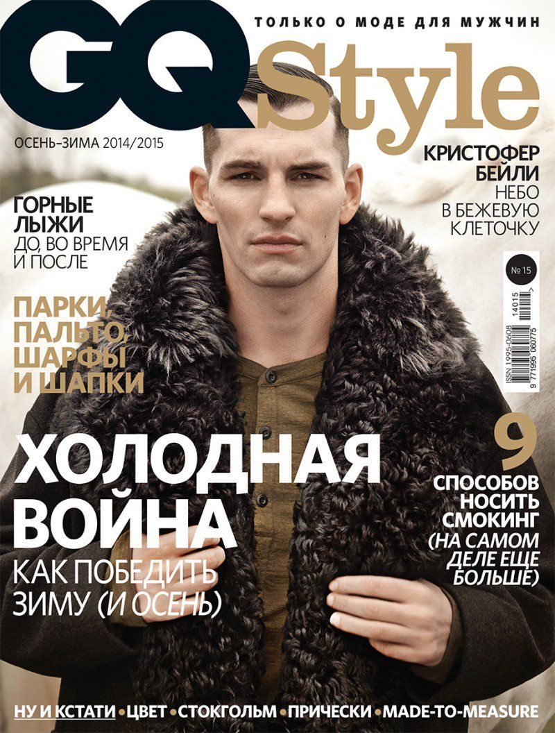 Chris Folz in GQ Style Russia Fall/Winter 2014