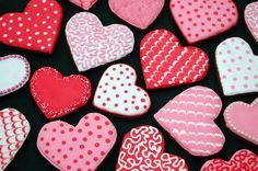 Decorated Valentine Cookies   Google Search