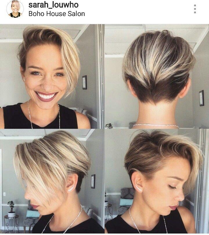 Long Pixie Cut Hair Pinte