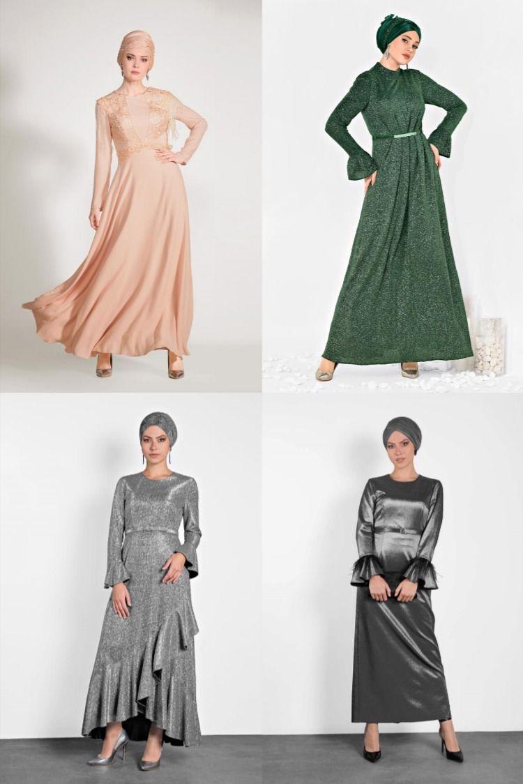 Alvina Tesettur Abiye Modelleri 2020 15 17 2020 Elbise Modelleri Giyim Kadin