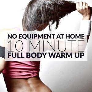 10 Minute No Equipment Full Body Warm Up