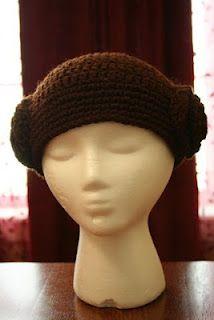 Princess Leia Beanie/Wig Crochet Pattern