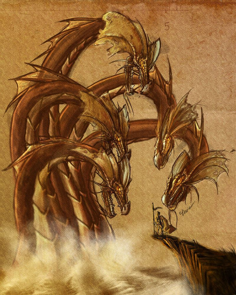 9 headed hydra mythology