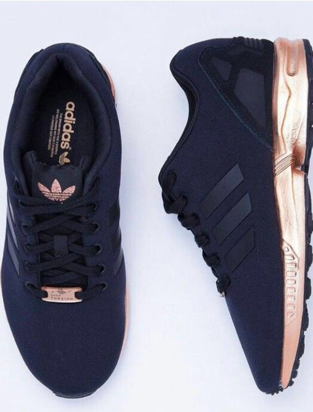 adidas zx flux noir et rose gold femme