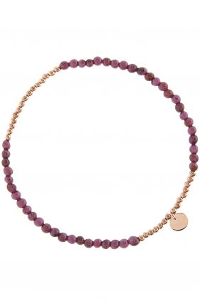 petit gems I rose gold plated #garnet #bracelet I designed for NEW ONE I NEWONE-SHOP.COM