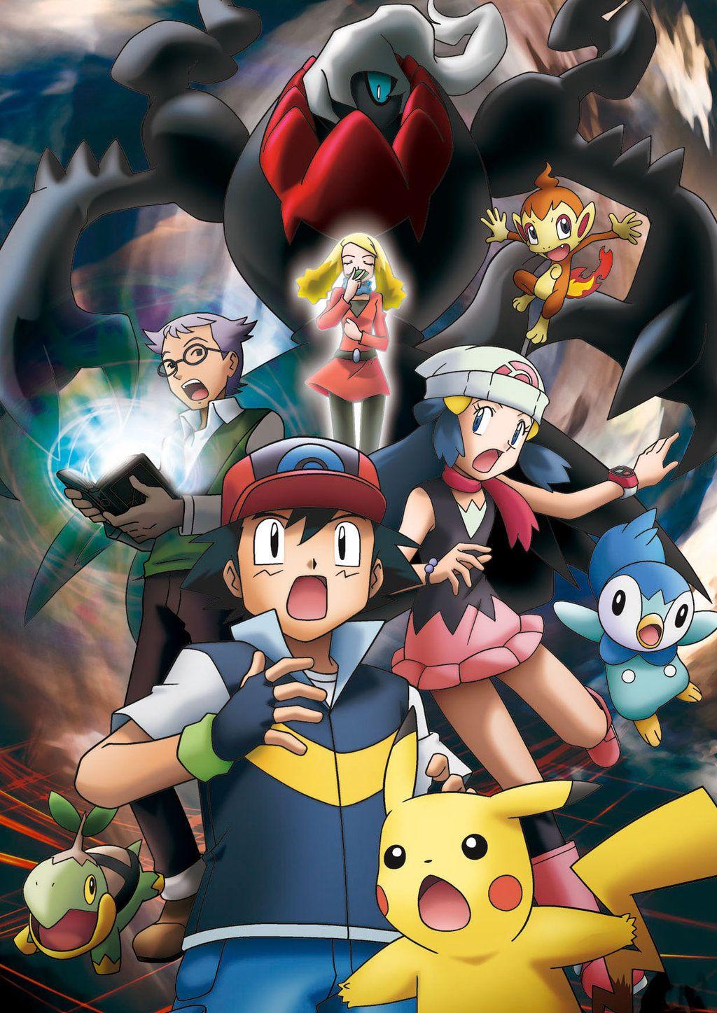 93 Favorite Pokemon Movie The Rise Of Darkrai Pokemon Movies