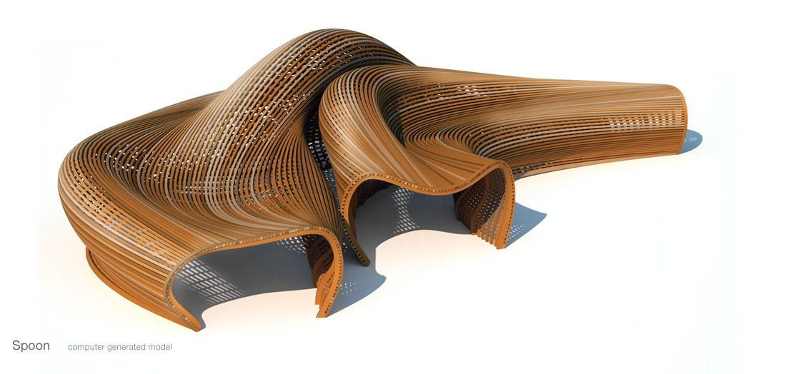 Organic Sofa Dwg Organic Funiture By Matthias Pliessnig | Furniture Design