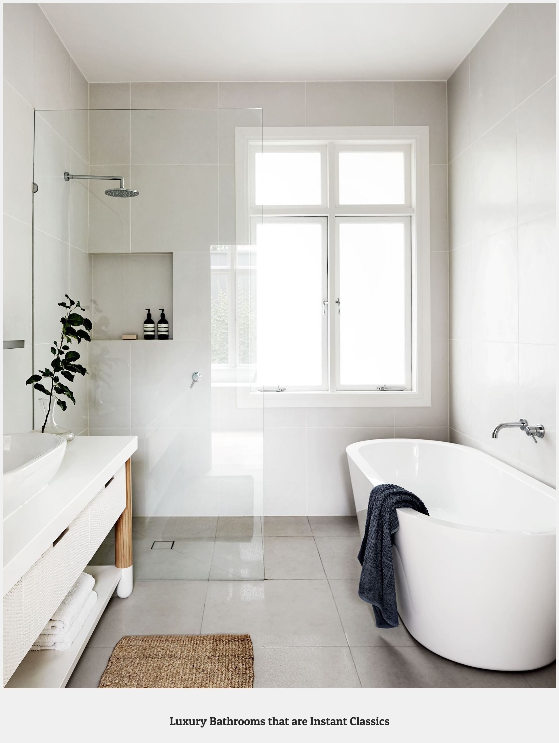 Bathroom 86349 Shower And Free Standing Bath Preferred If Space Permits Along With Double Vanity In 2020 Best Bathroom Designs Bathroom Layout Modern Bathroom Design
