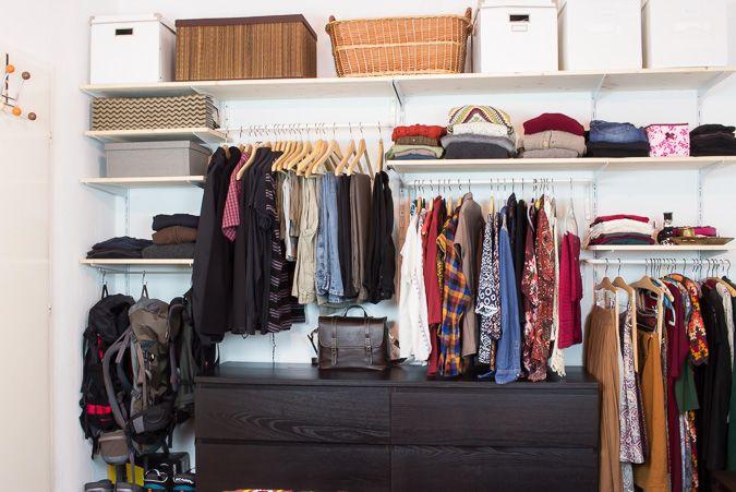 Vintage DIY Offenen Kleiderschrank bauen