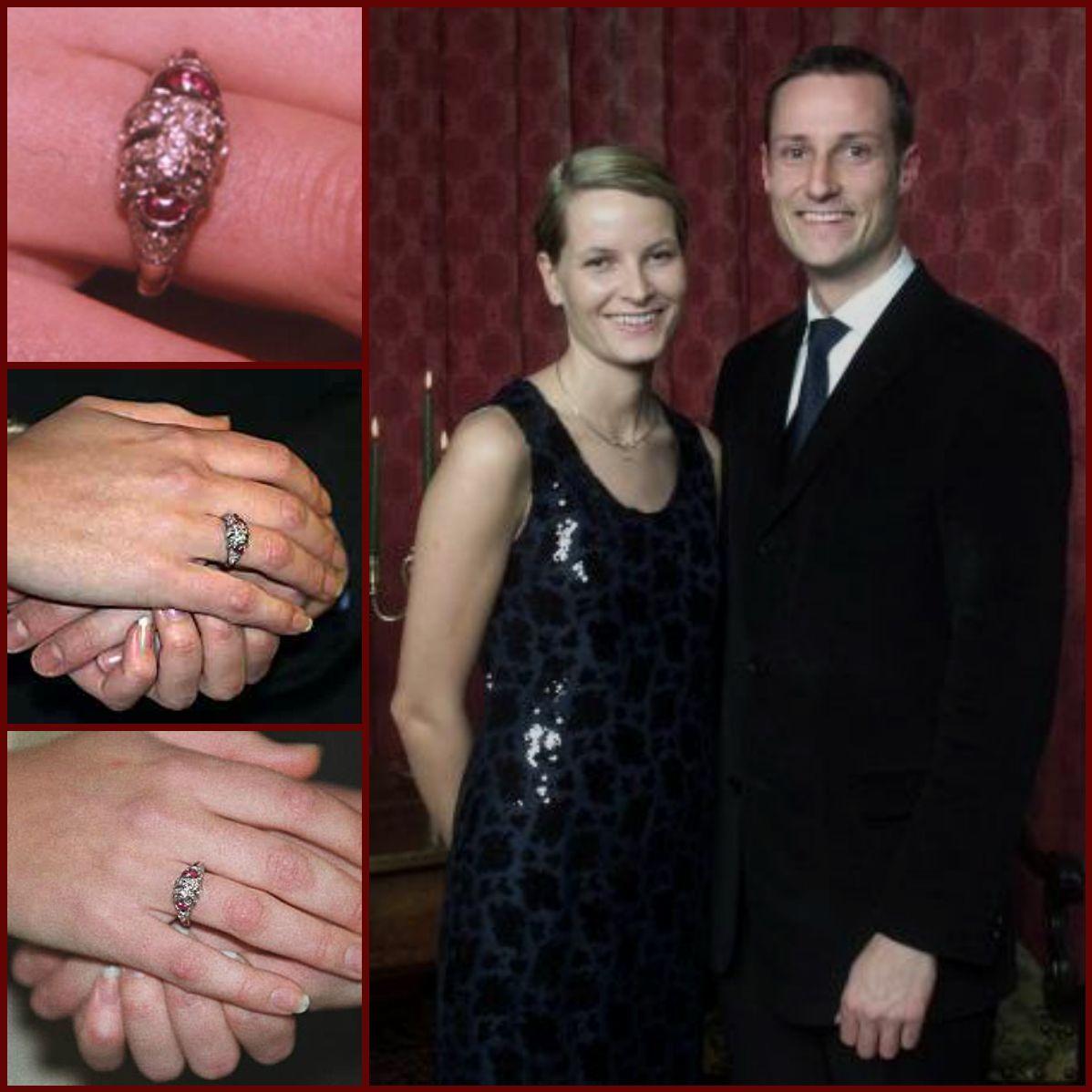 Engagement Ring Of Crown Princess Mette Marit Of Norway Prince Wedding Royal Engagement Royal Dresses