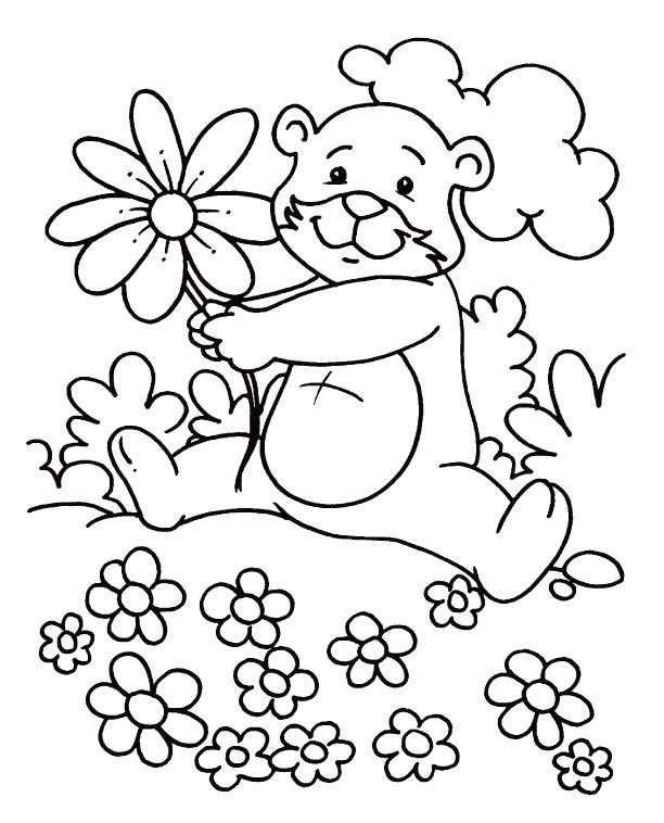 Spring Coloring Sheets To Print | Coloring pages, Happy ...