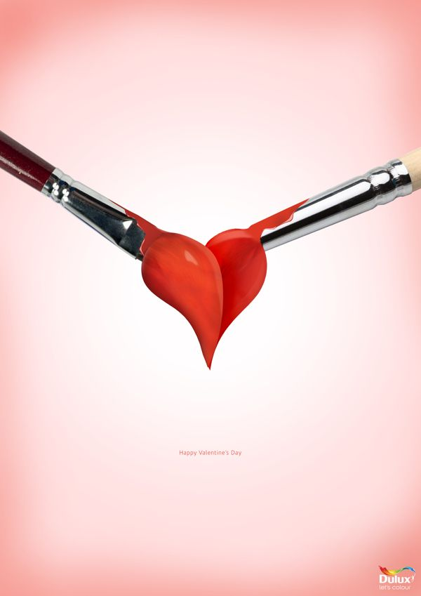 Valentine Ad By Ayo Ishola Via Behance Own Made Pinterest